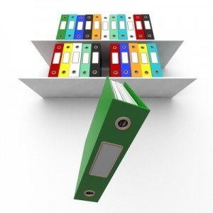 Shelf Storage para guarda de documentos!