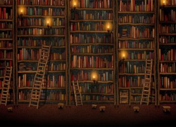 156994-books-Vladstudio-shelves-library-ladders-candles-748x468